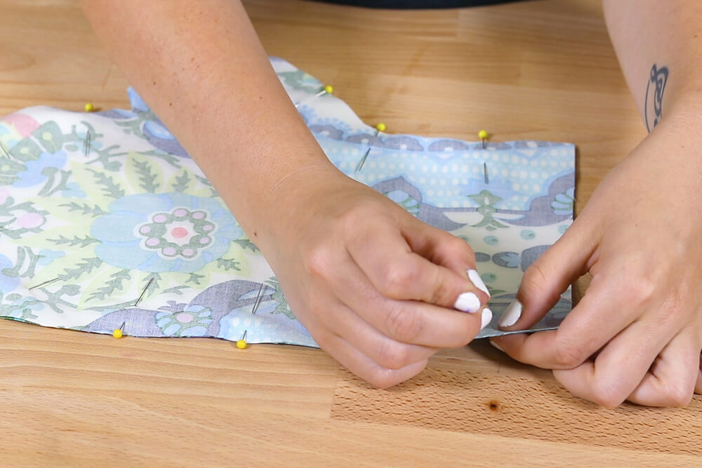 How to Make an Oven Mitt - Sew together