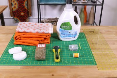How To Make a Catnip Blanket - Materials