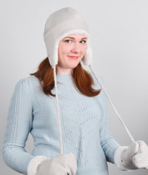 How to Make a Fleece Hat with Ear Flaps