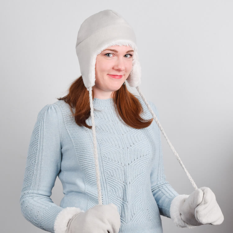How to Make a Fleece Hat with Ear Flaps  6588b83008b