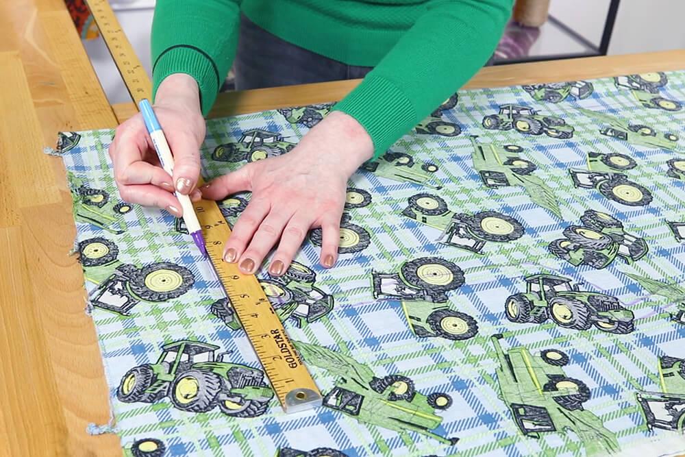How to Make Drawstring Pajama Pants - Step 1