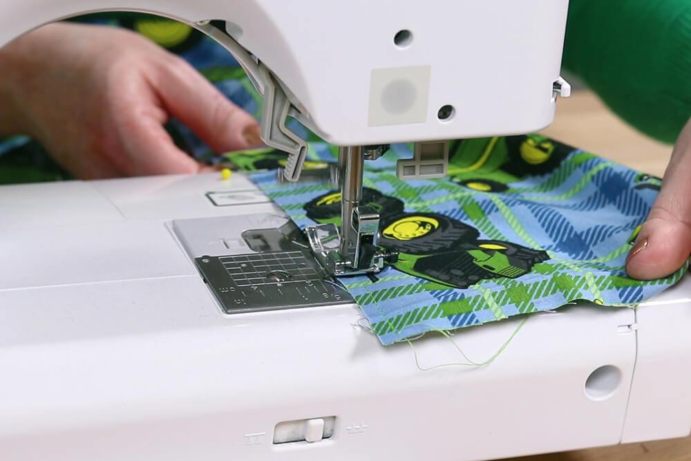 How to Make Drawstring Pajama Pants - Step 2