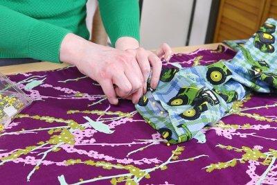 How to Make Drawstring Pajama Pants - Step 3
