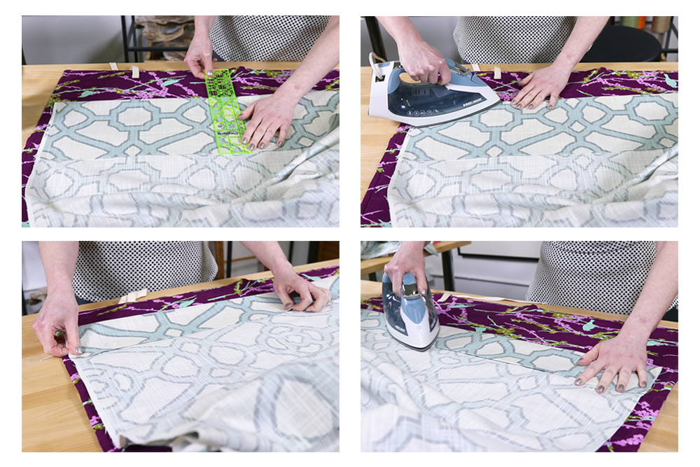 How To Attach Drapery Weights Ofs Maker S Mill