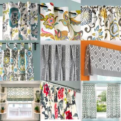 DIY Curtains and Window Treatments Tutorials