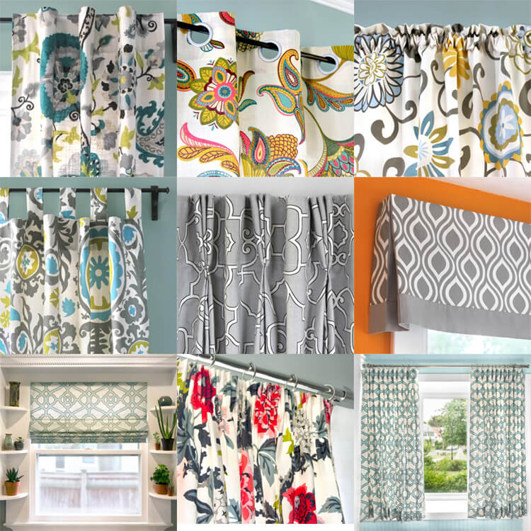 Curtains and Window Treatments DIY Tutorials