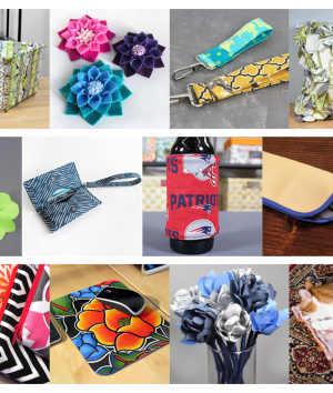 12 Scrap Fabric Projects