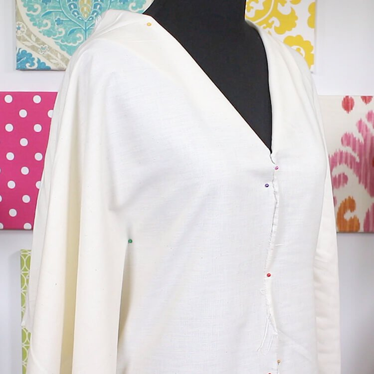 Using Muslin for Garment Mock-ups