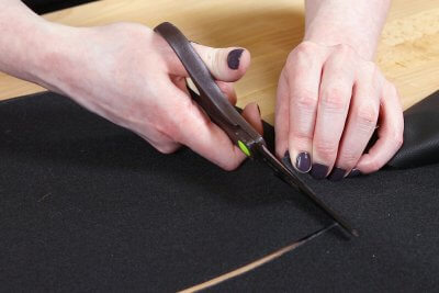 How to Make a Faux Leather Vinyl Handbag - Step 1