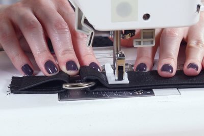 How to Make a Faux Leather Vinyl Handbag - Step 10