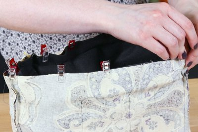 How to Make a Faux Leather Vinyl Handbag - Step 11
