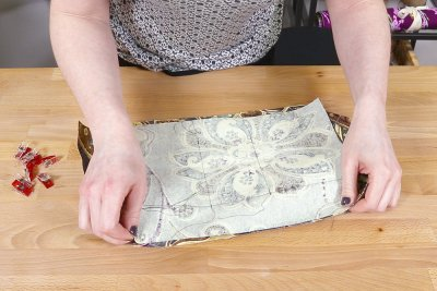 How to Make a Faux Leather Vinyl Handbag - Step 4