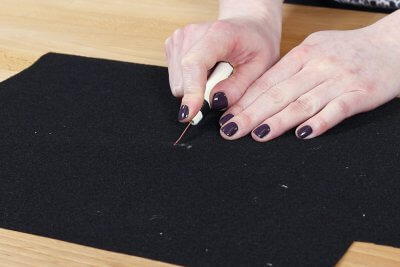 How to Make a Faux Leather Vinyl Handbag - Step 5