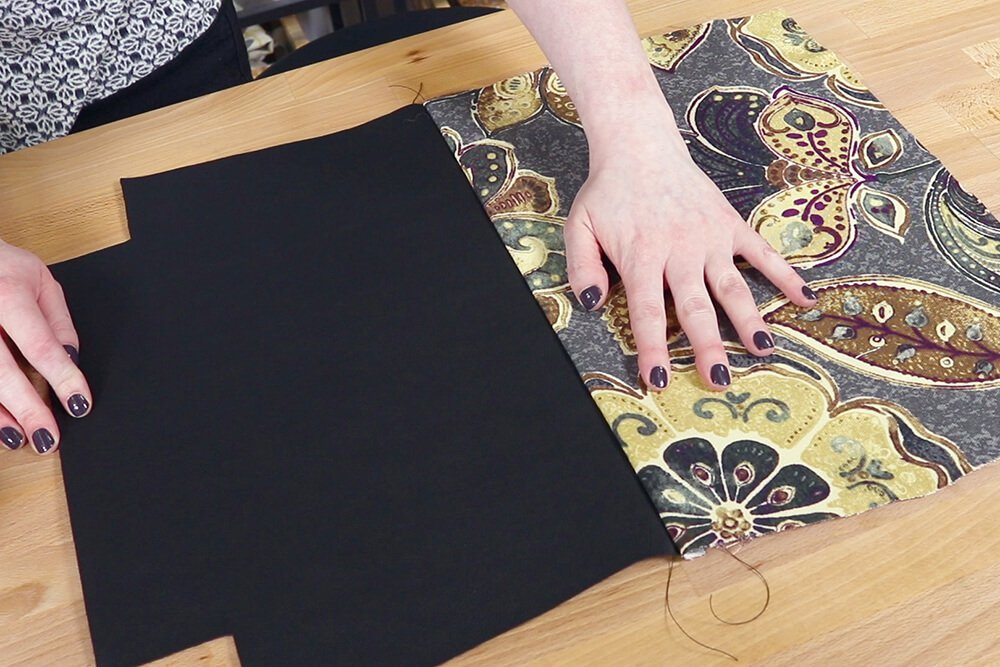 How to Make a Faux Leather Vinyl Handbag - Step 7