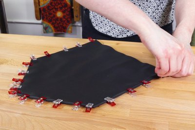 How to Make a Faux Leather Vinyl Handbag - Step 8