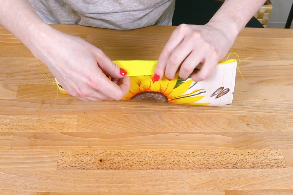 How to Make an Oilcloth Apron - Step 2