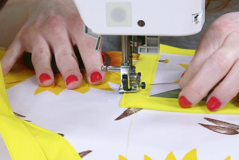 How to Make an Oilcloth Apron - Step 5
