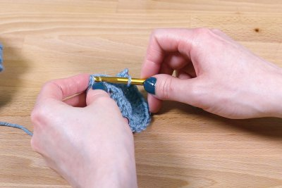 How to Make Kitchen Scrubbies - Step 1