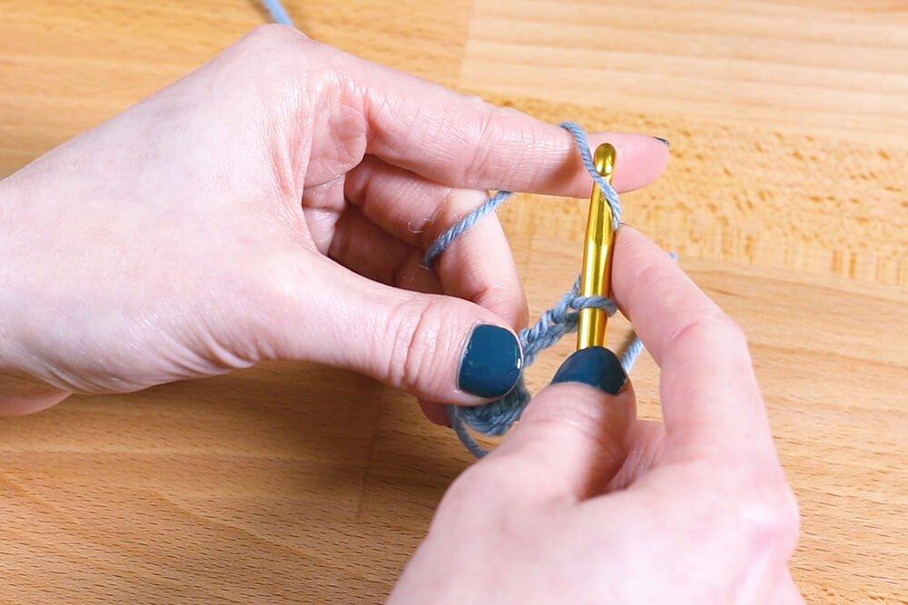 How to Make Kitchen Scrubbies - Step 1