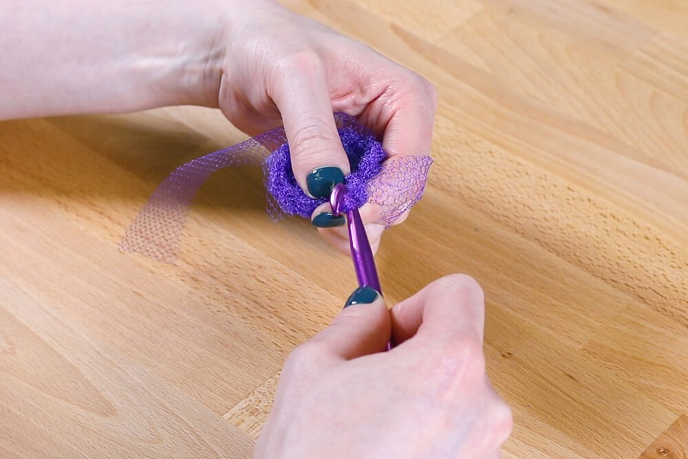 How to Make Kitchen Scrubbies - Step 2