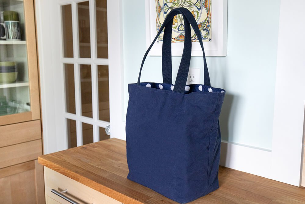 How to Make Reusable Shopping Bags - Step 1