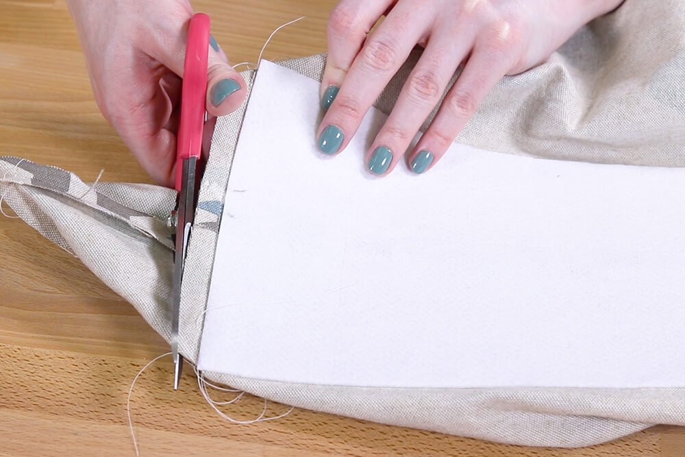 How to Make Reusable Shopping Bags - Step 2
