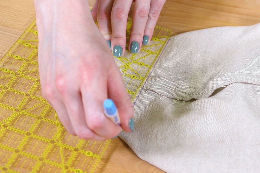 How to Make Reusable Shopping Bags - Step 3