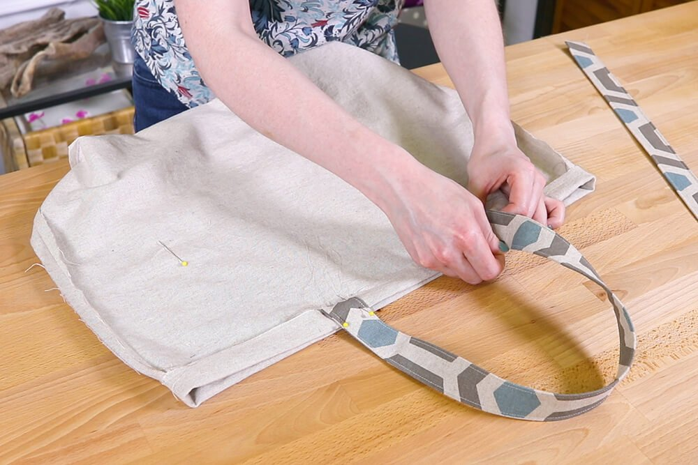 How to Make Reusable Shopping Bags - Step 4