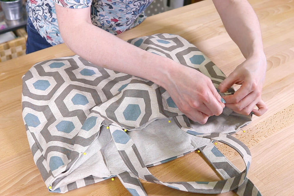 How to Make Reusable Shopping Bags - Step 5