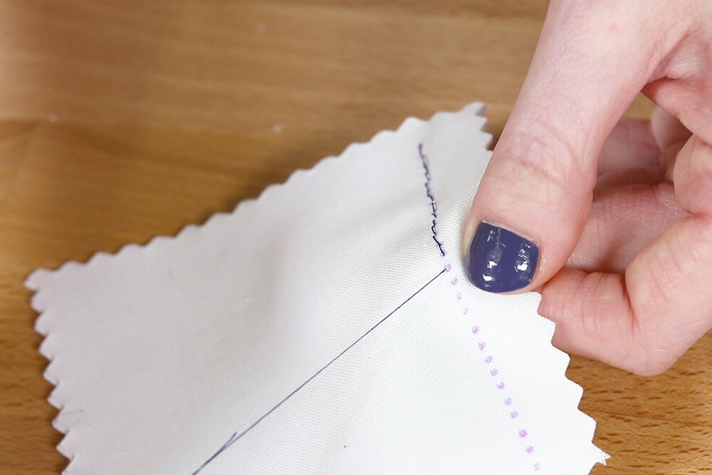 How to Hand Sew a Back Stitch