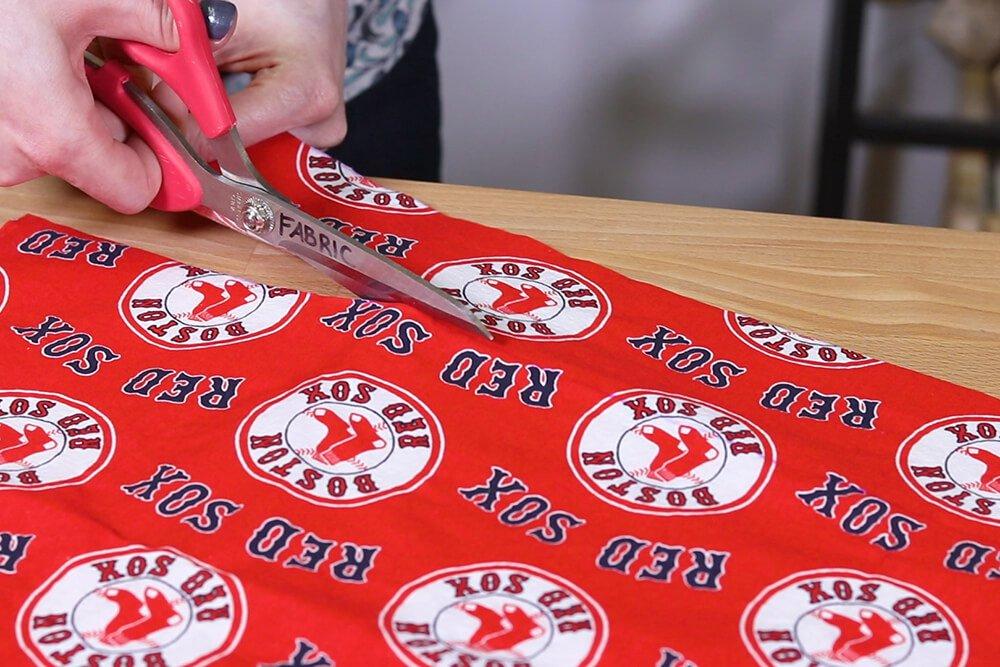 Step 1: Measure & cut the fabric