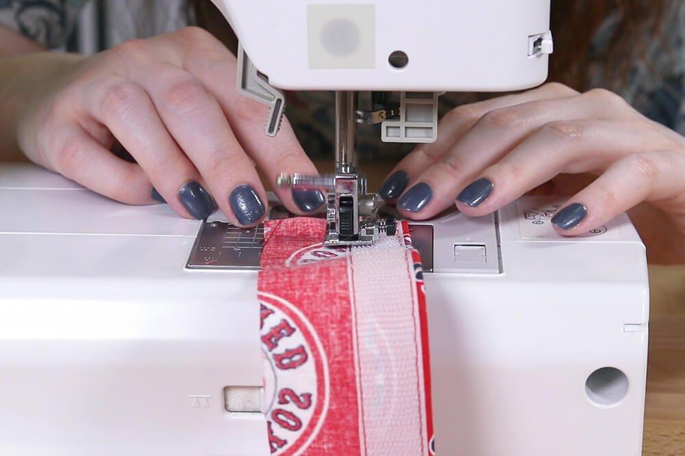 Step 3: Sew the Velcro
