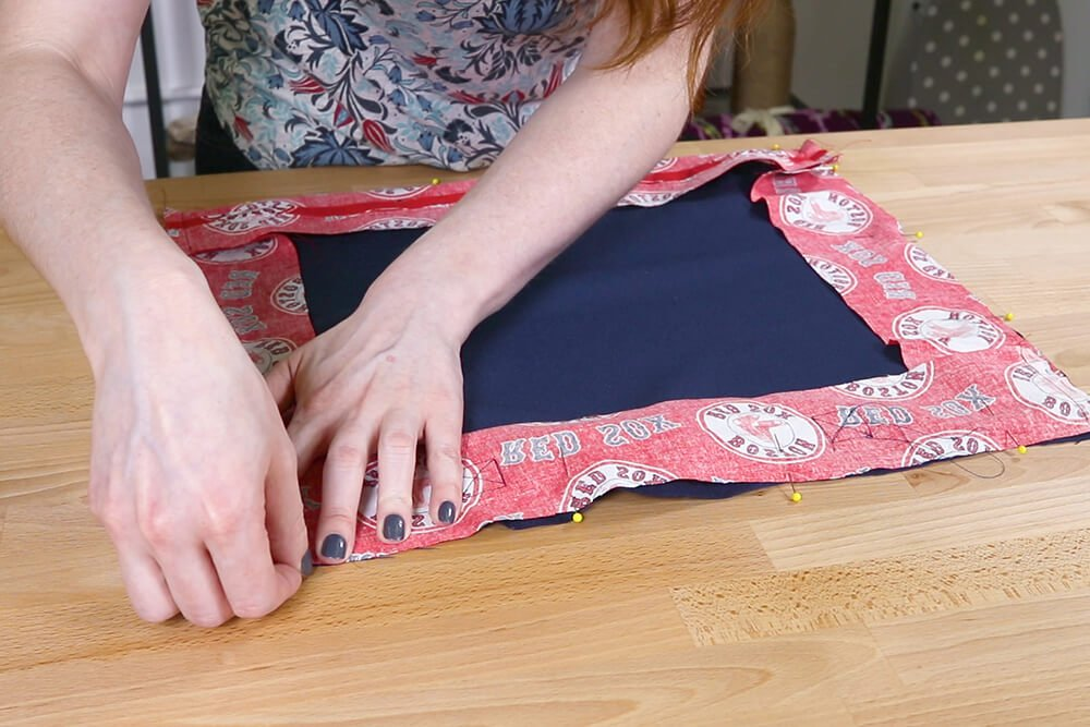 Step 4: Sew the pieces together