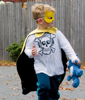 How to Make a Cape and Mask Set