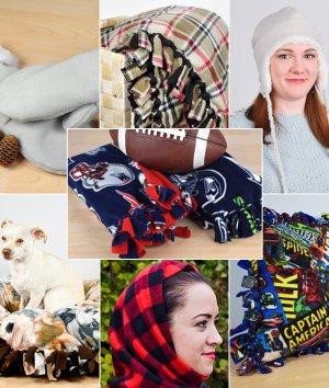 Fleece Fabric DIY Tutorials