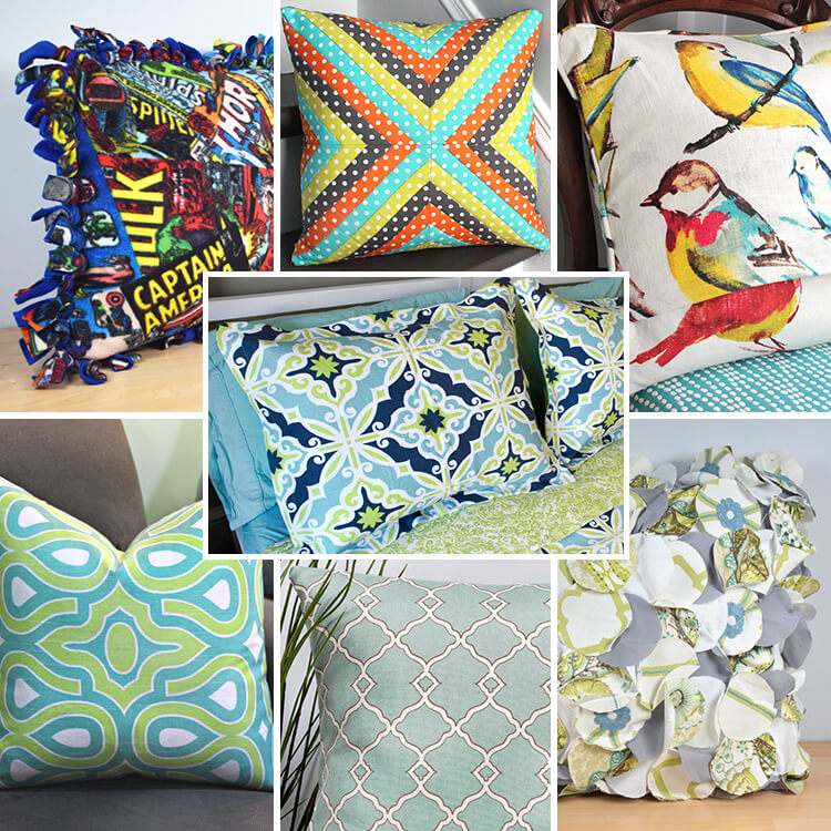 DIY Pillow Tutorials