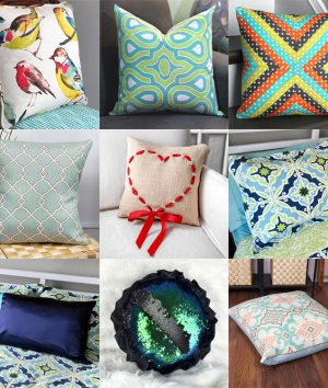 DIY Pillow Tutorials