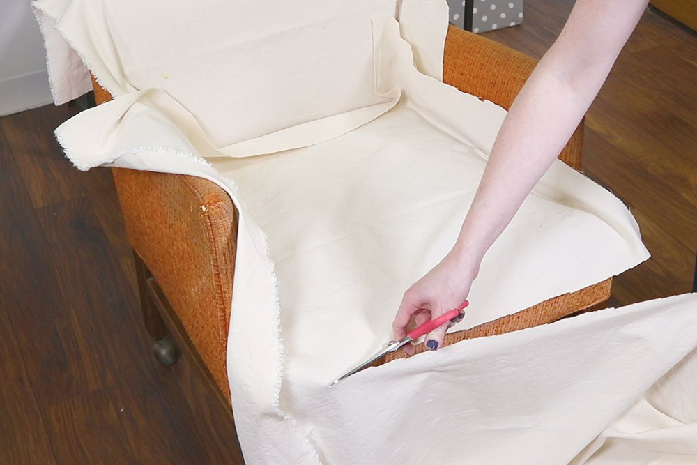 How to Make a Slipcover - Step 1