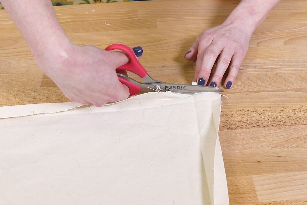 How to Make a Slipcover - Step 3