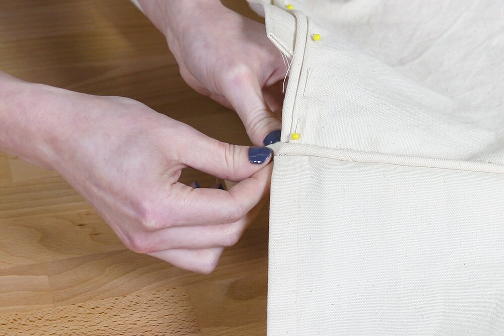 How to Make a Slipcover - Step 6