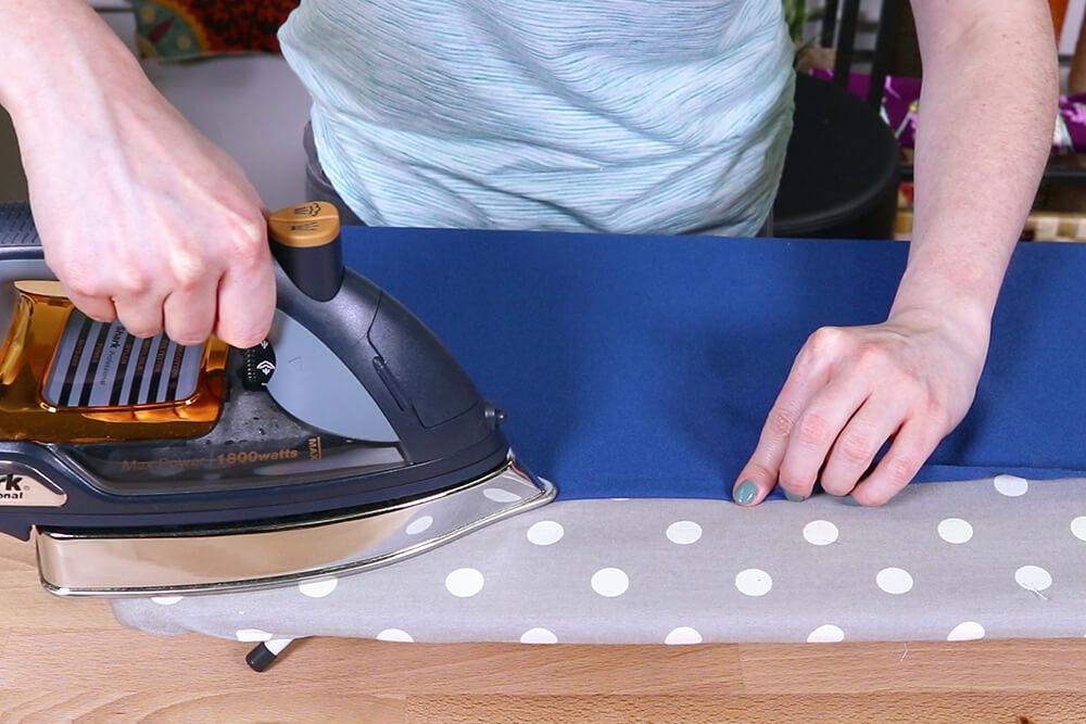 How to Make a Yoga Mat Bag - Step 2