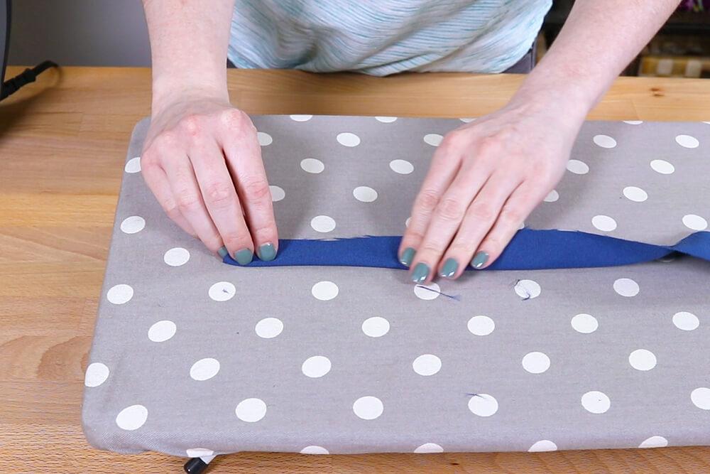 How to Make a Yoga Mat Bag - Step 3
