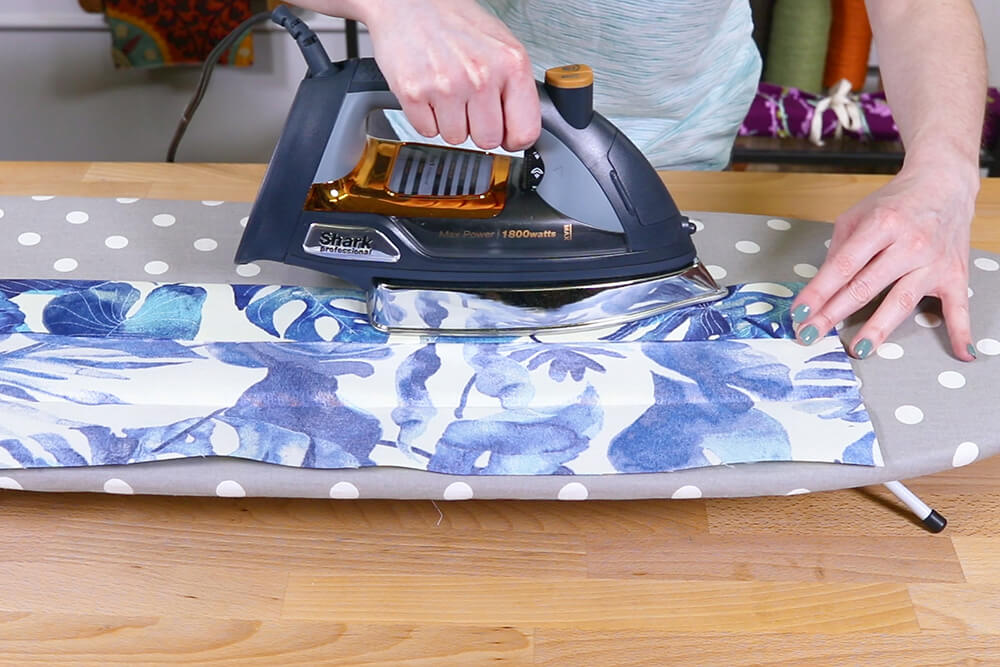 How to Make a Yoga Mat Bag - Step 4
