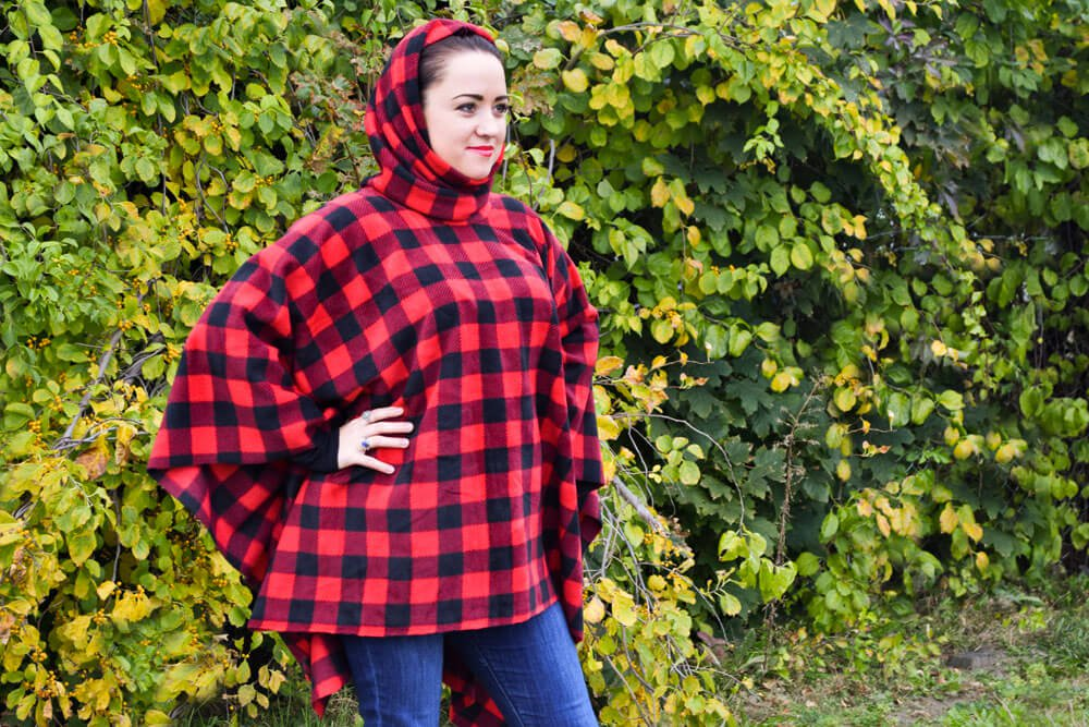 How To Make a Fleece Poncho