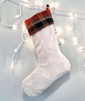 How to Make Christmas Stockings with a Lining