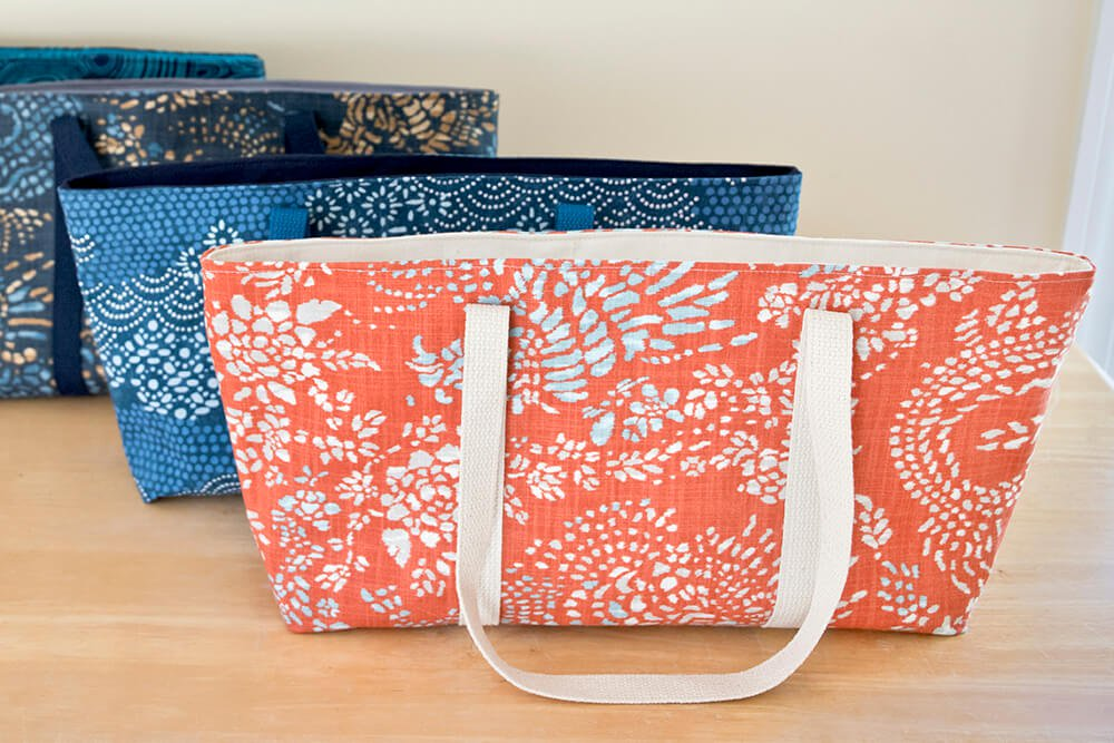 How to Make a Tote Bag with a Zipper