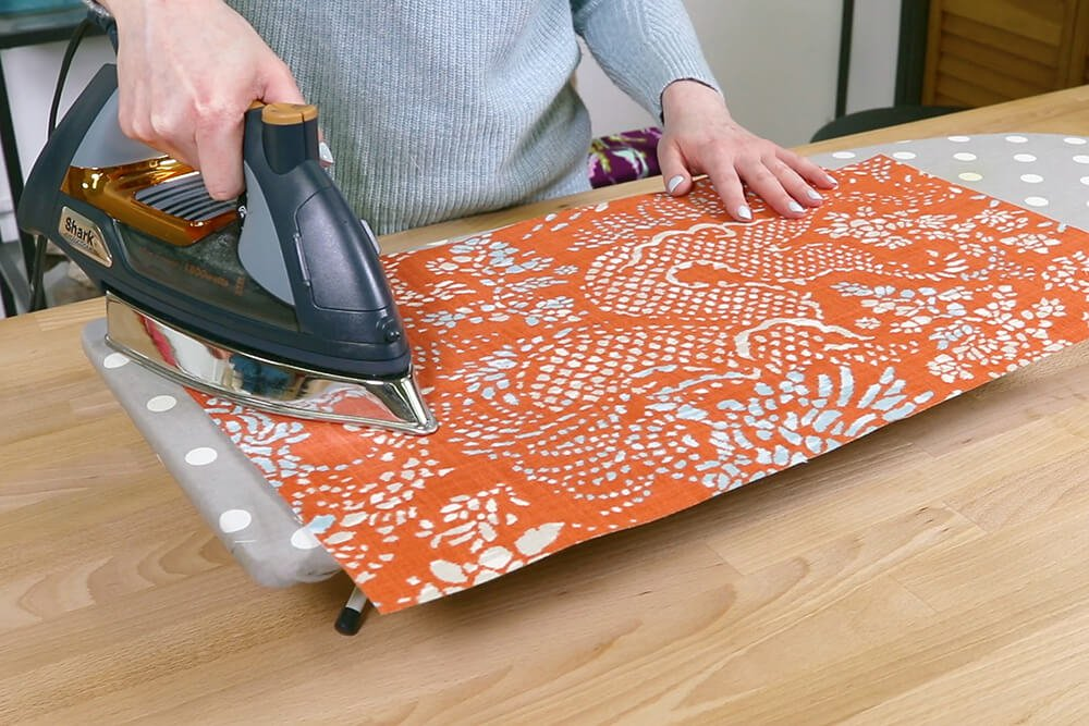 How to Make a Tote Bag with a Zipper - Step 2