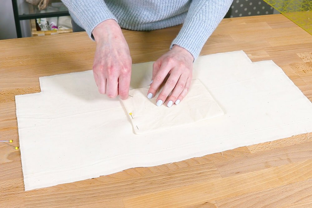 How to Make a Tote Bag with a Zipper - Step 4