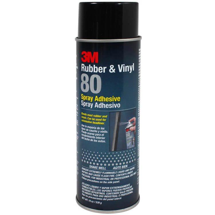 3M Rubber & Vinyl 80 Spray Adhesive