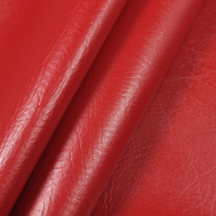 Red Faux Leather Vinyl